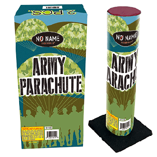 Army Parachute   2pk Parachute with Army Guy  By No Name Fireworks