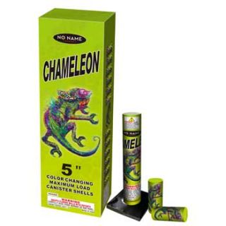 Artillery Shells by NO NAME NN4006 Chameleon 5 inch Color Changing Reloadable Cannister Shell