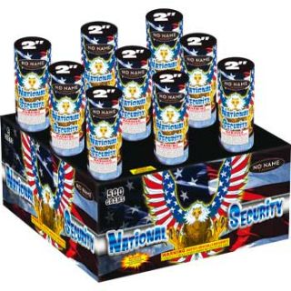 National Security | 2 Inch 9 Shot 500 Gram Multi Shot Aerial Firework by No Name Fireworks