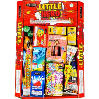 Little Hero Fireworks Assortment by No Name Fireworks