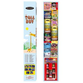 Tall Boy Fireworks Assortment by No Name Fireworks