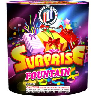 500 Gram Fountain Fireworks by SUPREME SP6002 Surprise Fountain