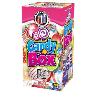 Candy Box 200 Gram Fountain by Supreme Fireworks