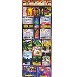 Most Wanted | Fireworks Assortment All Cakes & Shells By Top Gun Fireworks