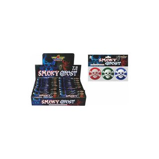 Smoky Ghost   3pk Aerial Fireworks Spinners By Top Gun Fireworks